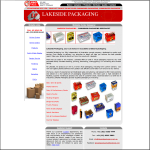 Lakeside Packaging Advanced Website