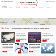 PAN Logistics Advanced Website